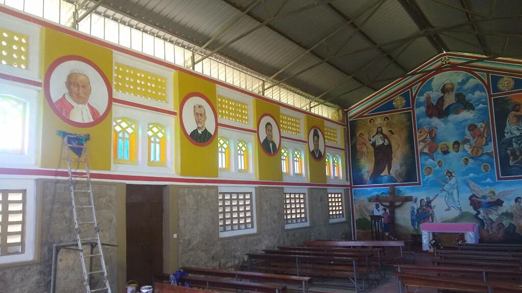 13-Affreschi Chiesa